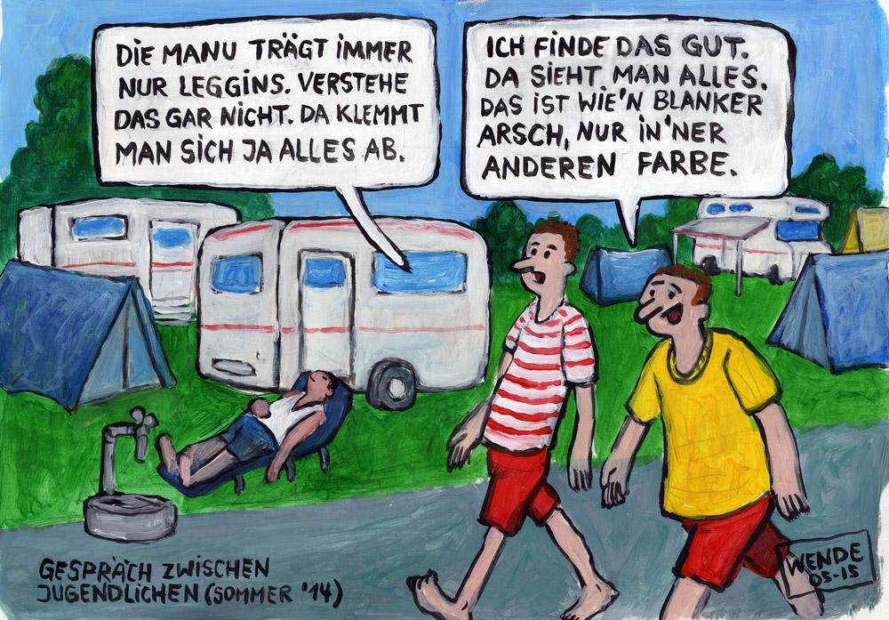 Cartoon: Blanker Arsch – Animationsfilm Berlin